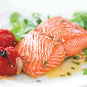 Premium Atlantic Salmon Portions | 10 lb. Box