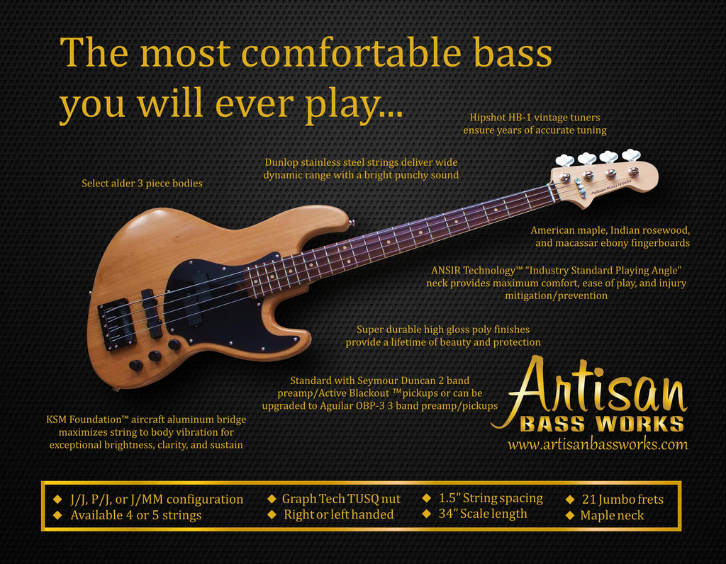 Features – Artisan Bass Works