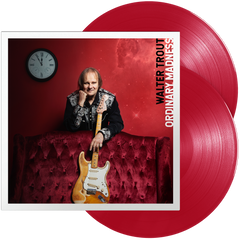 Walter Trout - Ordinary Madness (Double Red Transparent Vinyl) - Signed + T-Shirt