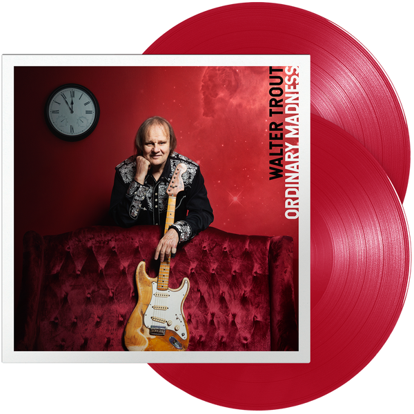 Walter Trout - Ordinary Madness (Double Red Transparent Vinyl) - Signed