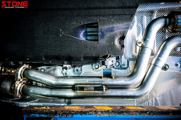 Stone Exhaust BMW S55 F80 M3 & F82 M4 Cat-Back Valvetronic Exhaust System | Stone Exhaust USA
