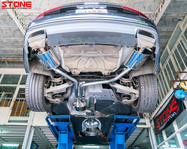 Stone Exhaust AUDI EA888 C7 A6 35 TFSI Vavletronic Catback Exhaust System | Stone Exhaust USA