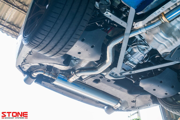 Stone Exhaust BMW B48D G20 G21 330i Cat-Back Valvetronic Exhaust System | Stone Exhaust USA