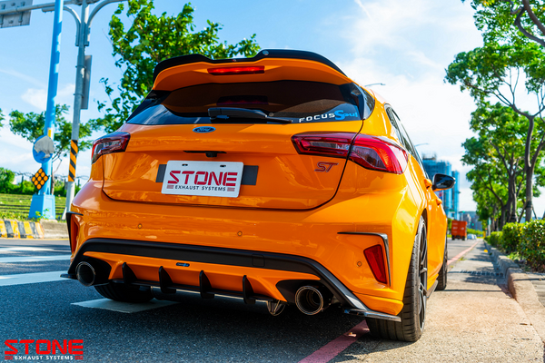 Stone Exhaust Ford MK4 Focus ST 2.3T Vavletronic Catback Exhaust System | Stone Exhaust USA