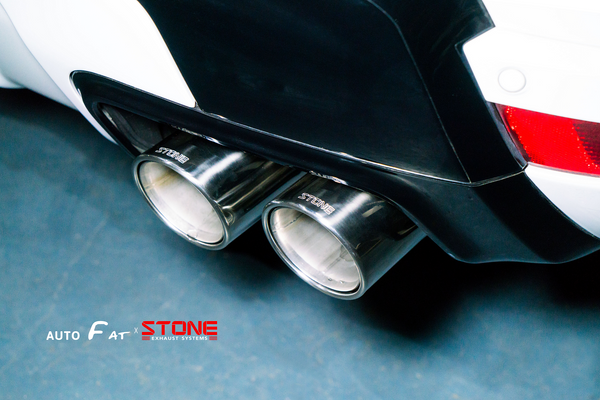 Stone Exhaust Land Rover V6 L494 Range Rover Sport Cat-Back Valvetronic Exhaust System  Stone Exhaust USA