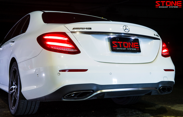 Stone Exhaust Mercedes-Benz M276 W213/S213 Cat-Back Valvetronic Exhaust System (Inc. E400, E450 & E43) | Stone Exhaust USA