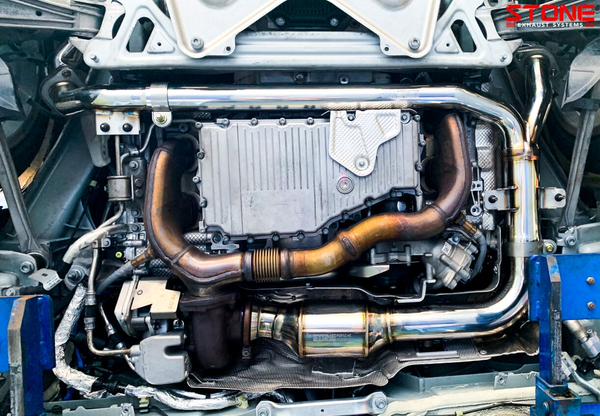 Stone Exhaust Porsche 928 718 Cayman Boxster S/GTS Cat-Back Valvetronic Exhaust System (Inc. 2.0T & 2.5T) | Stone Exhaust USA