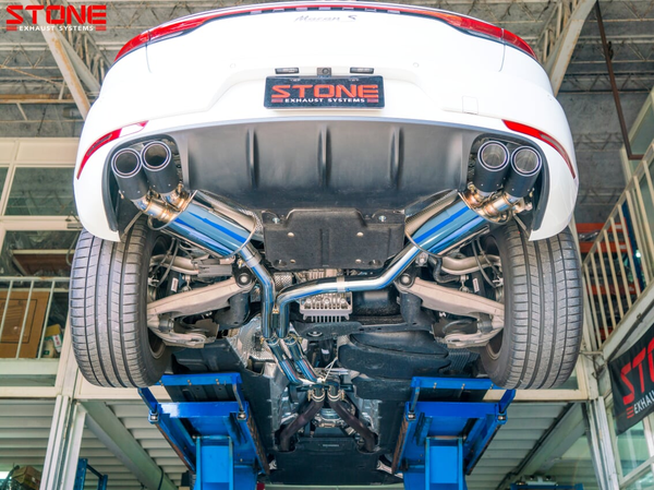 Stone Exhaust Porsche 95B Cat-Back Valvetronic Exhaust System (Inc. Macan S 3.0T & Macan Turbo 3.6T) | Stone Exhaust USA