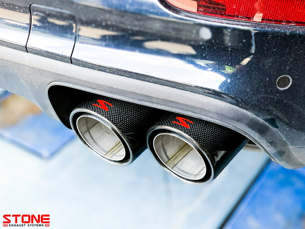 Stone Exhaust Porsche E3 Cayenne S 2.9T Cat-Back Valvetronic Exhaust System | Stone Exhaust USA