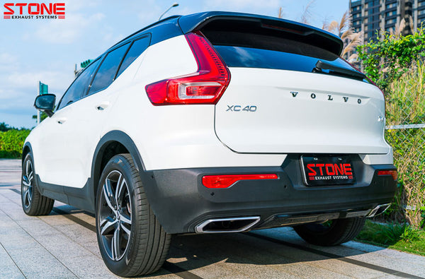 Stone Exhaust Volvo V316 XC40 T4R/T5R 2.0T Valvetronic Catback Exhaust System | Stone Exhaust USA
