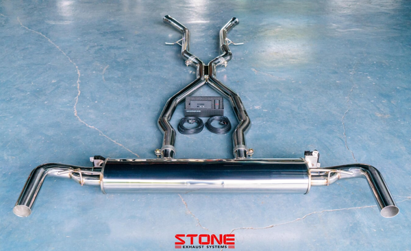 Stone Exhaust Mercedes-Benz AMG M276 W166 / C292 GLE450/43 Cat-Back Valvetronic Exhaust System| Stone Exhaust USA