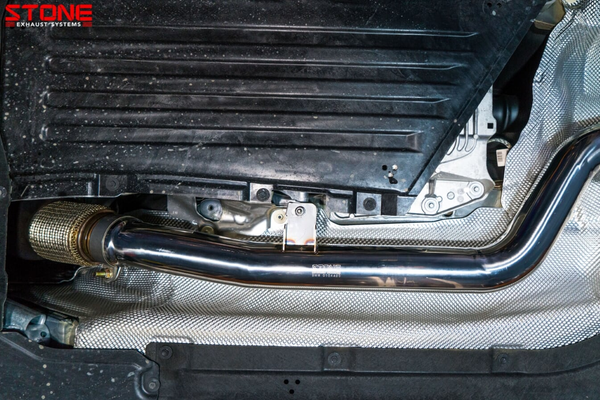 Stone Exhaust BMW B48 G20 330i Cat-Back Valvetronic Exhaust System | Stone Exhaust USA