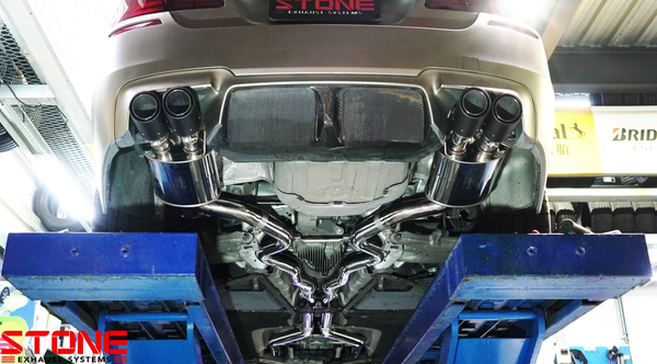 Stone Exhaust BMW S63 F10 M5 Cat-Back Valvetronic Exhaust System | Stone Exhaust USA