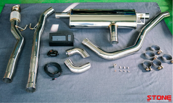 Stone Exhaust Mercedes-Benz AMG M260 W177 A250 Cat-Back Valvetronic Exhaust System | Stone Exhaust USA