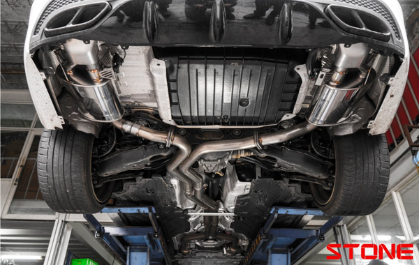 Stone Exhaust Mercedes-Benz AMG M276 W/S/C205 C400/450/43 Cat-Back Valvetronic Exhaust System | Stone Exhaust USA
