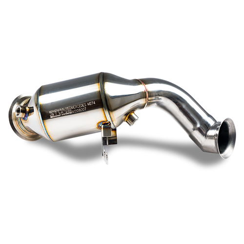 Stone Exhaust Mercedes-Benz M274 4MATIC & M264 4MATIC W/S/C205 C/X253 W213/C238 Eddy Catalytic Downpipie (Inc. C200, C250, C300, E250, E300, GLC250 & GLC300) | Stone Exhaust USA