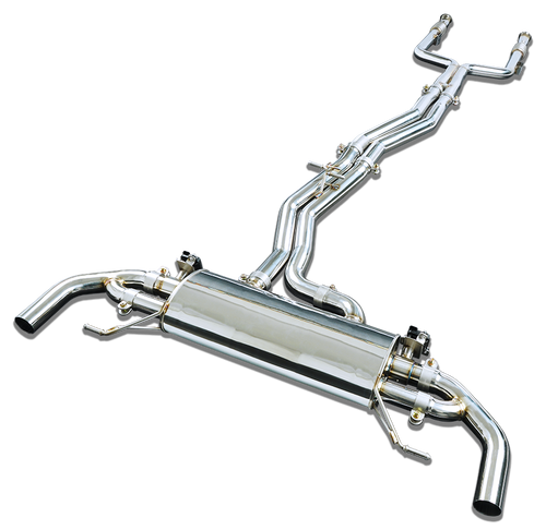 Stone Exhaust Mercedes-Benz M276 X253 C253 AMG GLC43 Cat-Back Valvetronic Exhaust System | Stone Exhaust USA