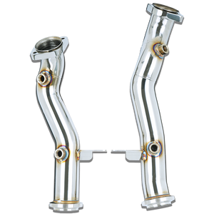 Stone Exhaust Mercedes-Benz M276 X253 C253 GLC43 Catless Downpipie | Stone Exhaust USA