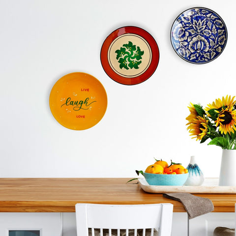 Wall Plates in Dining Room