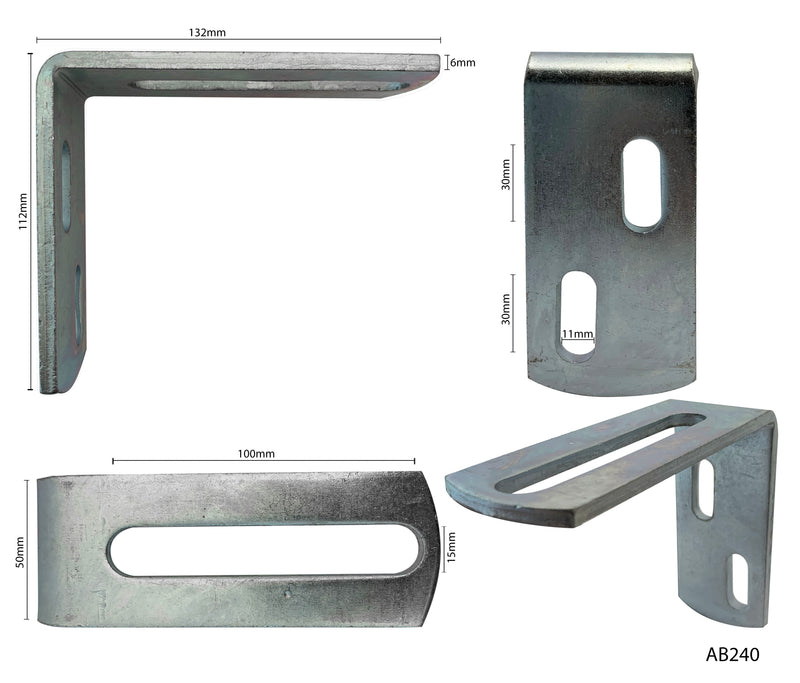 Angle Bracket for Guide Rollers