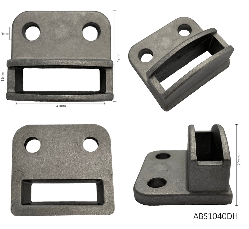 Aluminium single sided bracket