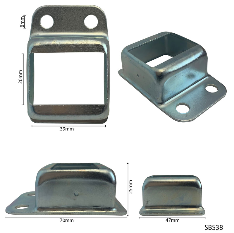Steel Single-Lug Bracket