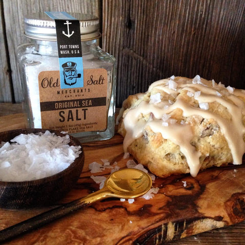 all natural sea salt maple pecan scone baking from scratch gourmet