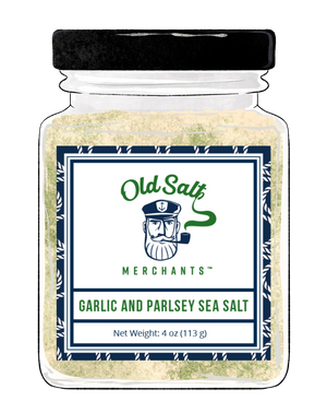 Garlic and Parsley Salt