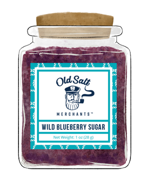 Wild Blueberry Sugar for Sample Pack