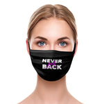 2 LAYER COTTON FACE MASK - 1 to 3 COLOR PRINT