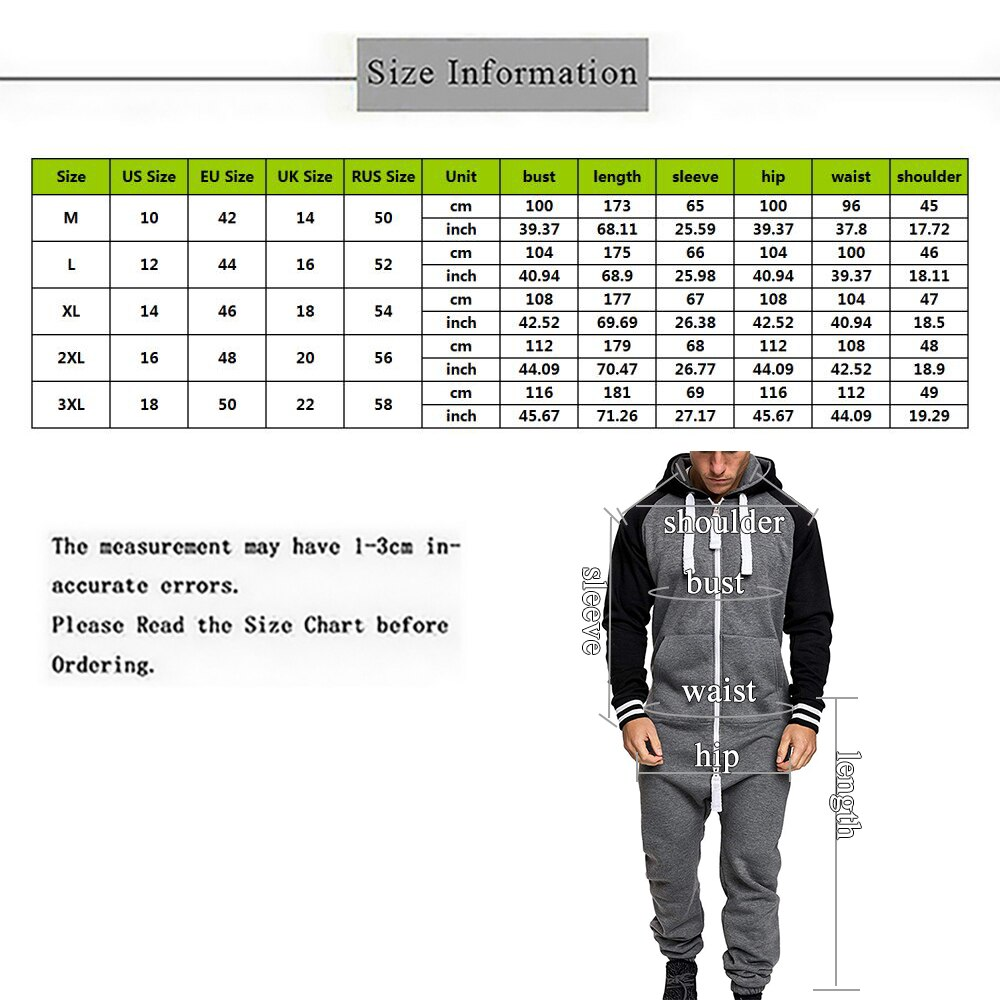 Color Splicing Jumpsuit Casual Solid Hoodie Zipper Jumpsuit One-piece Playsuit