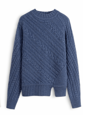 High-End Mountain Cashmere Sweater
