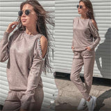 Tracksuit Knitted Suits