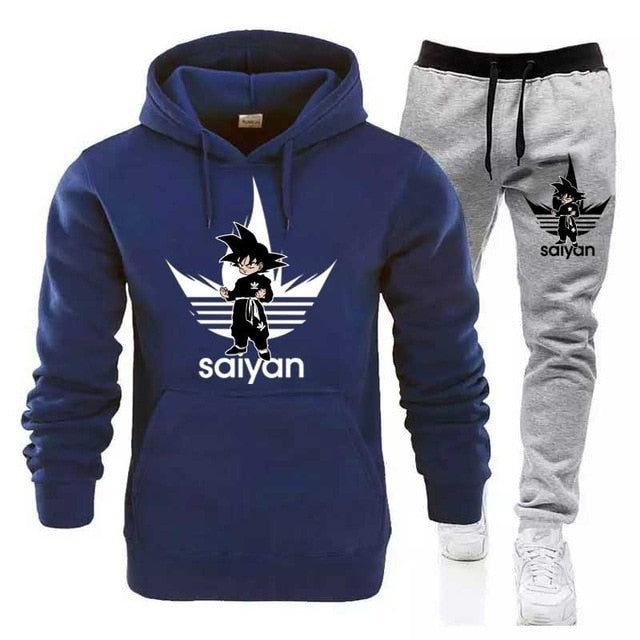 SAIYAN Sport Suits Casual Sweatshirts Tracksuit