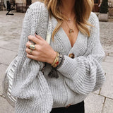 Knitting Cardigan Sweater Full Sleeve