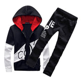 Track Suit Jacket Hoodie with Pants