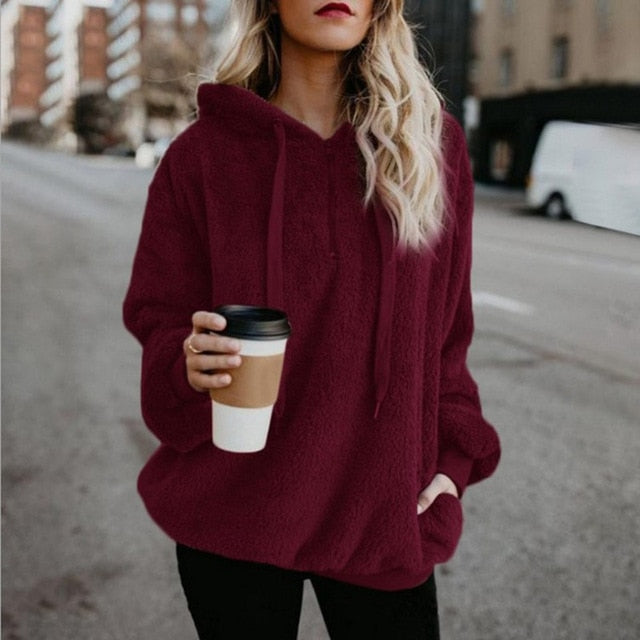 Oversized Hoodies Coat