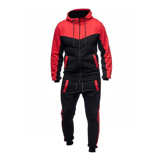 Long Sleeve Hoodies+Pants Sets Tracksuit