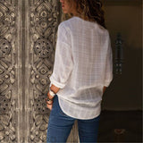 Long Sleeve  Casual Blouse