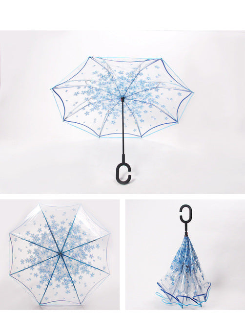 C-Umbrella (Transparent Blue)