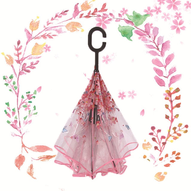 C-Umbrella (Butterfly Pink)