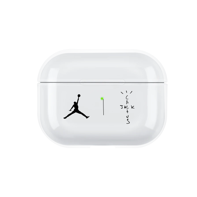 Travis Scott Astroworld Inspired Transparent Airpods Pro Case Hipelife