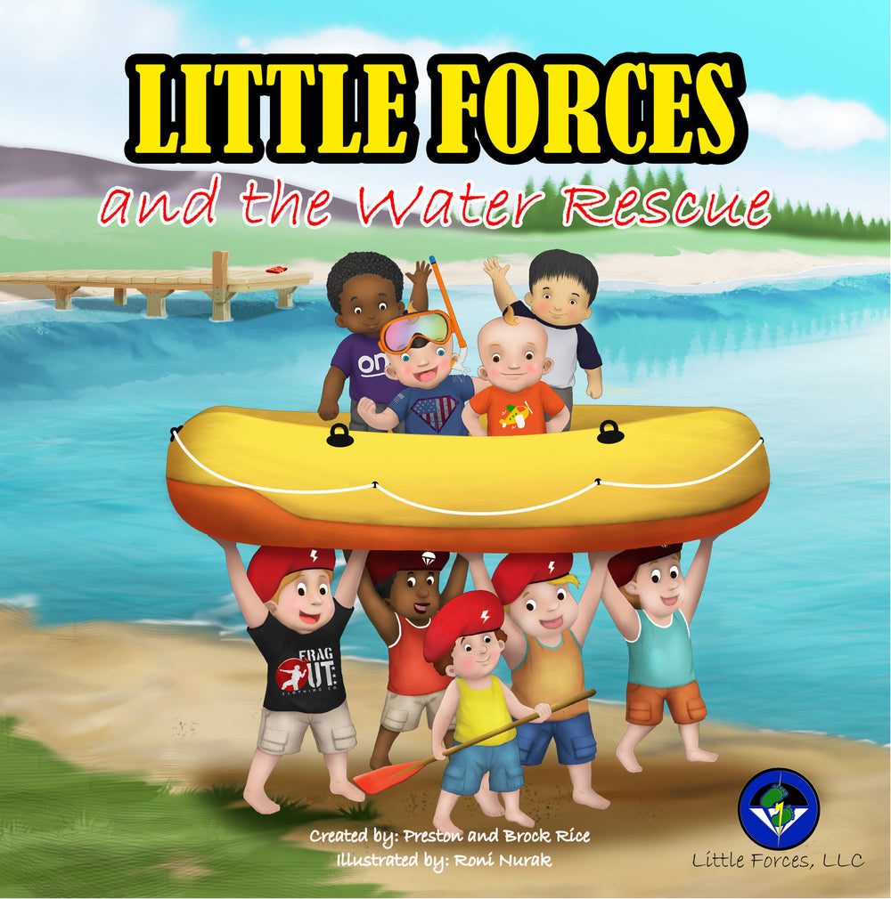 Little Forces: and the Water Rescue (Volume 2)