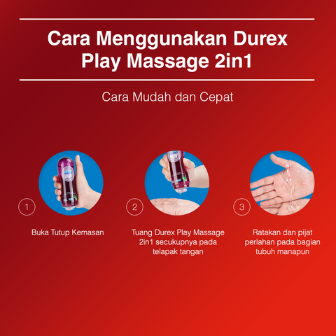 Jual Durex Play Massage 2-In-1 Bottle Lubricant Termurah