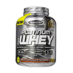 MuscleTech Essential Platinum 100% Whey Chocolate - 5 LB