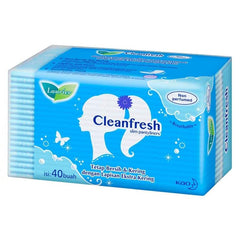 Gambar Laurier Pantyliner Cleanfresh Non Parfum - 40 pcs Jenis Perawatan Ms V