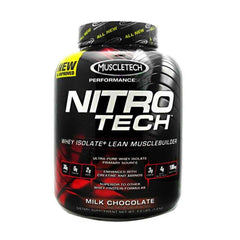 Gambar MuscleTech Performance Series Nitro-Tech - 4 LB Chocolate Jenis Suplemen Fitnes