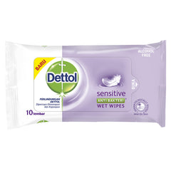 Dettol Sensitive Wipes - 10 Sheets