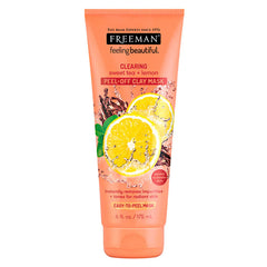Gambar Freeman Clearing Sweet Tea & Lemon Peel-Off Clay Mask - 175 mL Jenis Perawatan Tubuh
