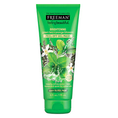 Gambar Freeman Brightening Green Tea & Orange Blossom Peel-Off Gel Mask - 175 mL Jenis Perawatan Tubuh